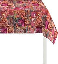 Apelt Tablecloth, Cotton, Orange, 100 x 100 x 0.5