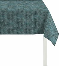 Apelt Tablecloth, Polyester, Turquoise, 85 x 85 x