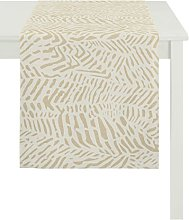 Apelt Tablecloth, Polyester, Yellow, 150 x 250 x
