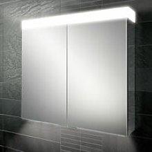 Apex 100 Aluminium Bathroom Cabinet with Mirrored