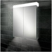 Apex 60 Aluminium Bathroom Cabinet with Mirrored