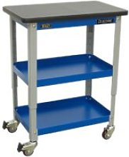 API2103 Industrial 3-Level Workshop Trolley -