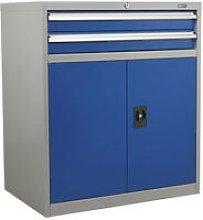 API8810 2 Drawer & 1 Shelf Double Industrial