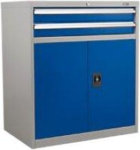 API8810 Industrial Cabinet 2 Drawer & 1 Shelf