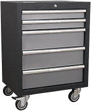 APMS58 Modular 5 Drawer Mobile Cabinet 650mm -