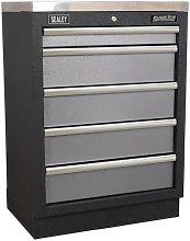 APMS59 Modular 5 Drawer Cabinet 680mm - Sealey