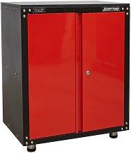 APMS81 Modular 2 Door Cabinet with Worktop 665mm -