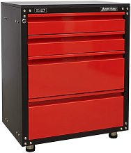 APMS84 Modular 4 Drawer Cabinet with Worktop 665mm