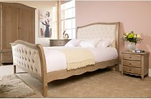 Apolline Upholstered Bed Frame Lily Manor