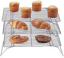 Apollo 3-Tier Chrome Cake Cooling Rack