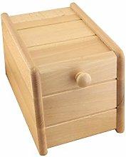Apollo Bread bin Drop Front Mini, Wood, 30x18x20