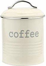 Apollo Canister Rnd Coffee Cream, Multi-Colour,