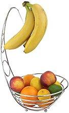 Apollo Chr Banana Tree Fruit Bowl, Multi-Colour,