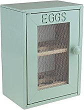 Apollo Egg Cabinet Mint, Wood, Green, 25x18x12