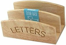 Apollo Housewares Letters Holder Rubber Wood