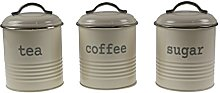apollo THE HOUSEWARES BRAND Canister Rnd Set3