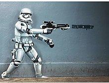 Apoptosical Star Wars Stormtrooper Graffiti Mexico