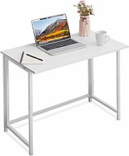 Apowe Folding Desk Computer Desk Office Table Work