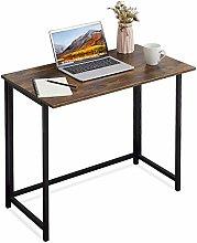 APOWE Folding Desk, Folding Computer Desk Home