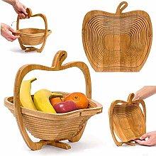Apple Shaped Collapsible Folding Fruit & Egg