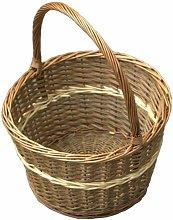 Apple Shopping Wicker Basket Brambly Cottage