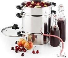 Applebee Steam Juicer Electric 1500W Ø25cm 8