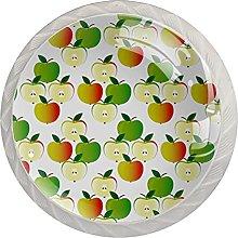 Apples, Modern Minimalist Printing Cupboard Handle