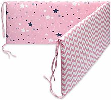 applyvt Cot Bed Bumper Sets, Cotton Bedding Crib
