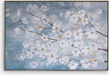 April Blossom - Floral Framed Canvas Print, 62.5 x