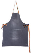 Apron - Barbecue / Denim by Dutchdeluxes Grey