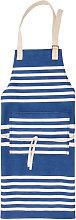 Apron with Nautical Stripes Design