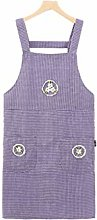 Aprons Apron for Women with Front 2 Pockets Bib
