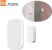 Aqara MCCGQ11LM Window Door Sensor ZigBee Wirelessly Connection / APP Control / Multi-purpose Intelligent Home Safety-Equipment,model: 1PC