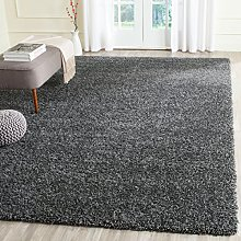 AQS Soft Shaggy Thick Plain Rug Non Shed 5cm Thick