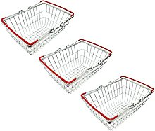 AQS Stainless Steel Mini Wire Shopping Basket Chip