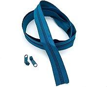 Aqua Continuous Zip & Sliders No. 3 Zippers