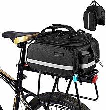 AquaBlue Bike Cycle Rear Rack Bag 25L Waterproof