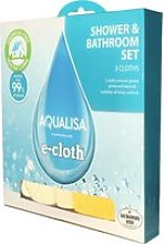 Aqualisa e-Cloth Bathroom and Shower Cleaning Kit