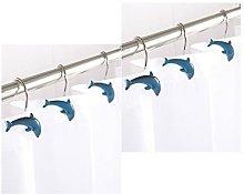 AQUALONA 12 x Dolphin Porpoise Fish Shaped Shower