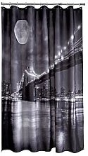 Aqualona Brooklyn Bridge Shower Curtain -