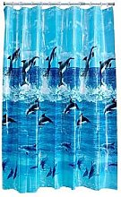 Aqualona Dolphin Shower Curtain