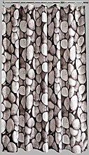 AQUALONA Shower Curtain – 100% Polyester –