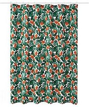 Aqualona Tropical Leaf Shower Curtain