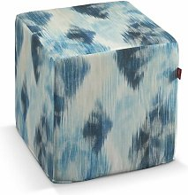 Aquarelle Box Cushion Ottoman Slipcover Dekoria