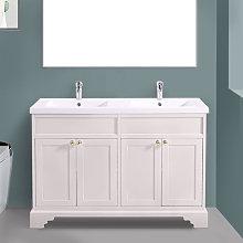 Aquariss - 1200mm Ivory Floor Standing Bathroom