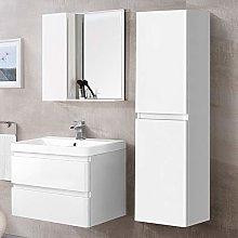 Aquariss 1400mm Tall Bathroom Storage Cabinet