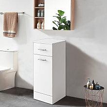 Aquariss - Gloss White Bathroom Laundry Basket