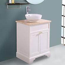 Aquariss - Ivory Floor Standing Bathroom Furniture