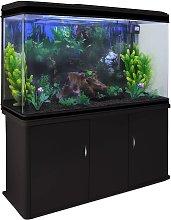 Aquarium Fish Tank & Cabinet with Complete Starter