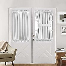 Aquazolax Patio Door Curtain Panel for Privacy
